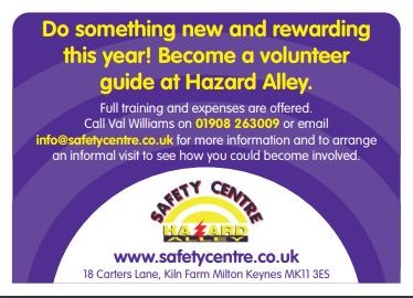 Safety Centre poster